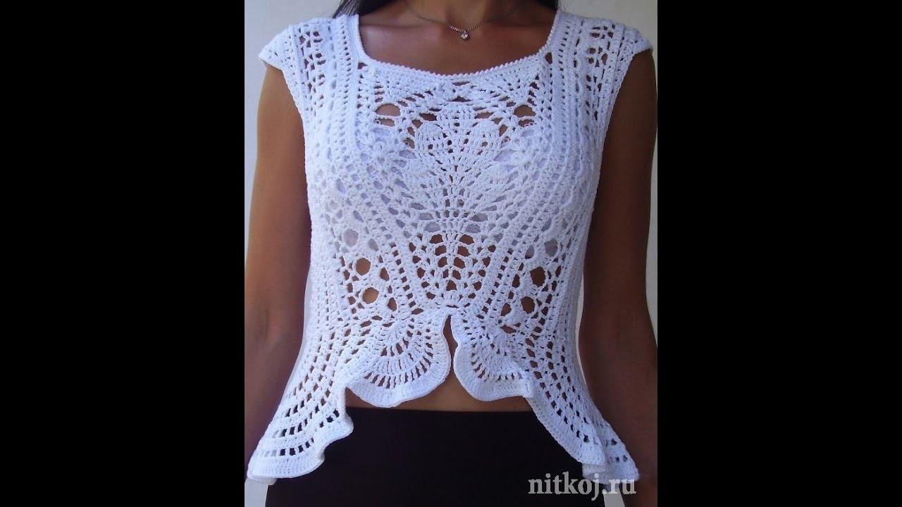 Crochet patterns| for |crochet tops patterns| 1088 - YouTube