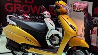 Honda Activa 5G showcased at 2018 Auto Expo - Upcoming Scooter 2018