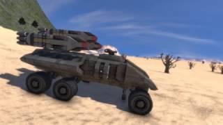 Razorback | Clusterbomb Artillery - Space Engineers