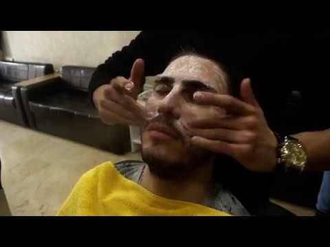 ASMR Turkish Barber Face Massage With Full Facial Care 83 (32 Mins)