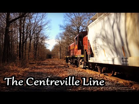 """""""The Centreville Line"""" Freight on the Maryland & Delaware Railroad"""