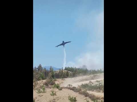 Ukrayna Uçağı Türkiye Yangınlarına Yardım İçin Geldi! Teşekkürler Ukrayna!