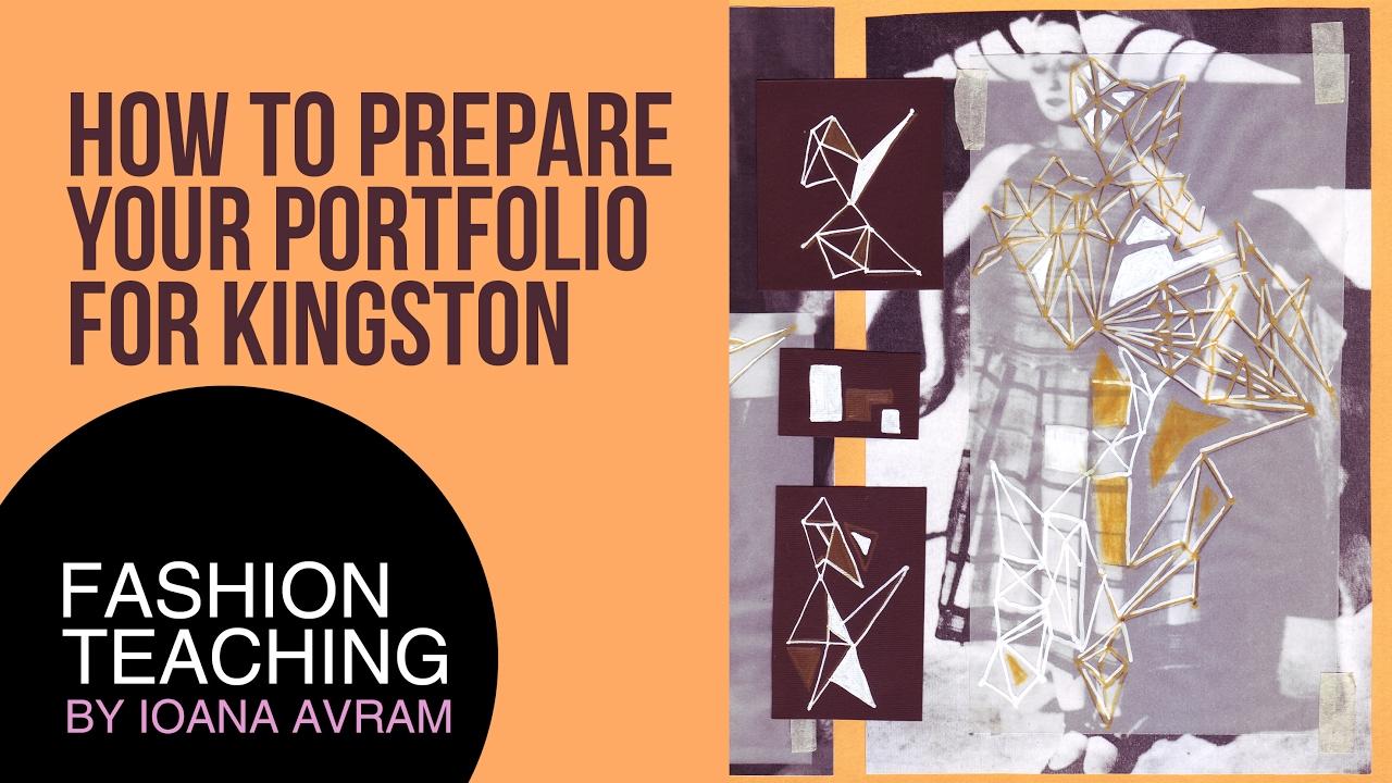 How To Prepare Your Portfolio For Kingston Youtube