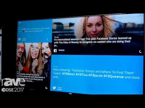 DSE 2017: Data Call Technologies Introduces Social Media Wall Software