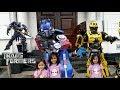 Selain Hantu Seram Ketemu Robot Transformer  Juga Di Alun-alun Bandung