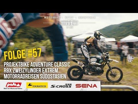 Motorradreise.TV Folge #57 – Reportage R9X Red Bull Romaniacs – Interview Bike Tour Asia