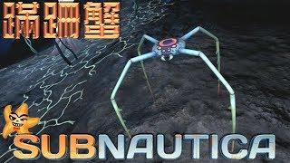 Subnautica 美麗水世界 EP38 蹣跚蟹!前往血海藻區蒐集血油吧!【至尊星】