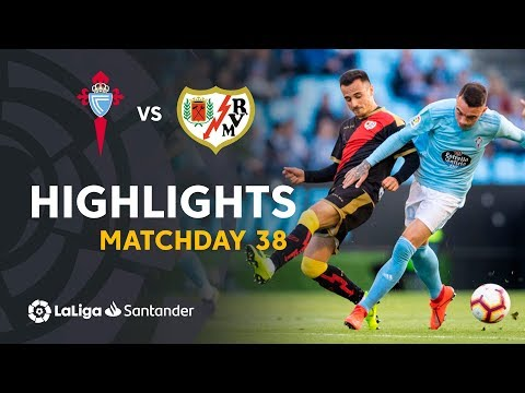 Highlights RC Celta vs Rayo Vallecano (2-2)