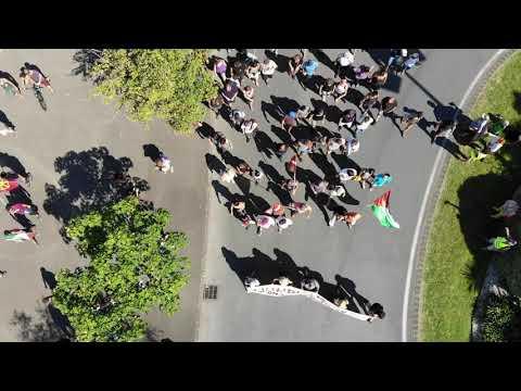 Manifestación en Hendaya e Irun contra la reunión G7