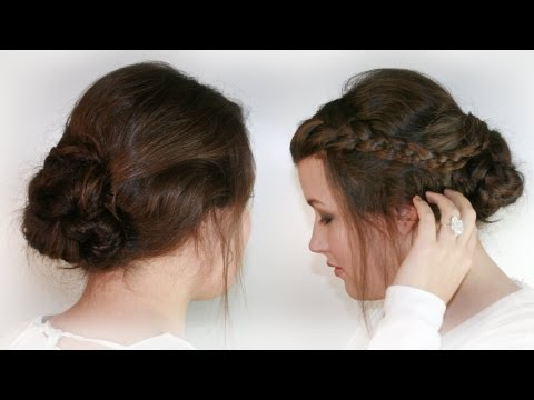 Bella Swan Wedding Hair Tutorial II Sissi