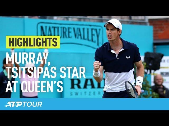 MURRAY WINS on Queen's Return & Tsitsipas Triumphs | HIGHLIGHTS | ATP