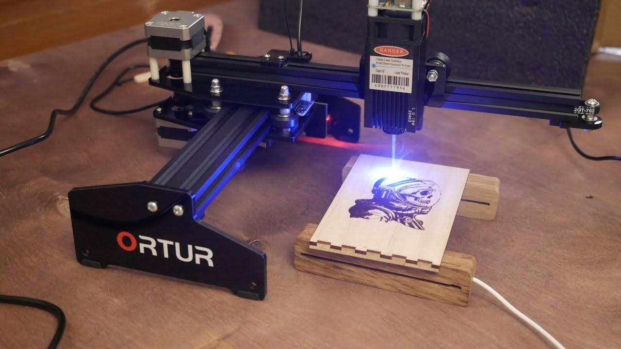 Обзор на лазерный ЧПУ гравер Ortur 15вт