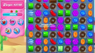 Candy Crush Saga Level 166 NO BOOSTERS no timed level