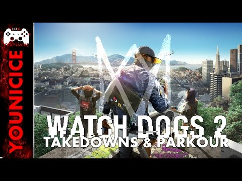 Watch Dogs 2 Takedowns & Finishers | Finishing Moves | Kill Compilation | Combat | Parkour