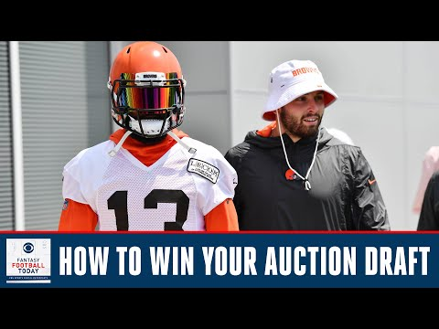 How To WIN Your Fantasy Football Auction Draft | Fantasy Football Today