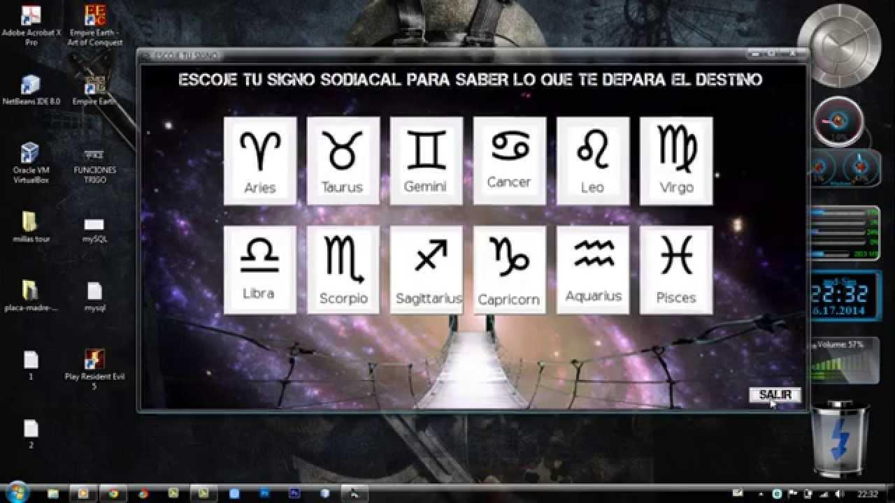 horoscopo simple en visual basic 60 - Tabla Periodica En Visual Basic