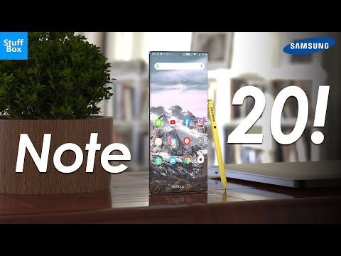Samsung Galaxy Note 20 Revealed!
