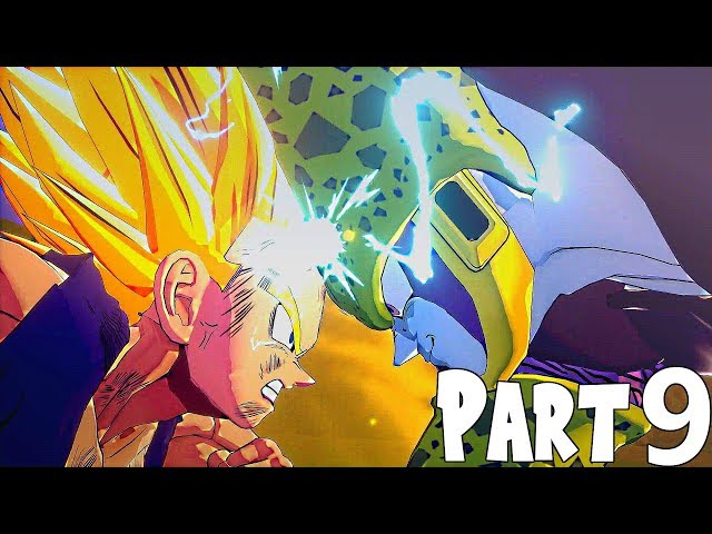 Dragon Ball Z Kakarot Walkthrough Part 9- Super Saiyan 2 Gohan vs Perfect Cell (Cell Saga ENDING)