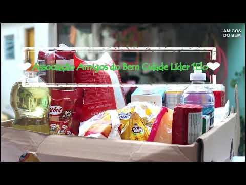Campanha de arrecadação de alimentos Associação Amigos do Bem local de entrega Rua adaira 101 Cidade