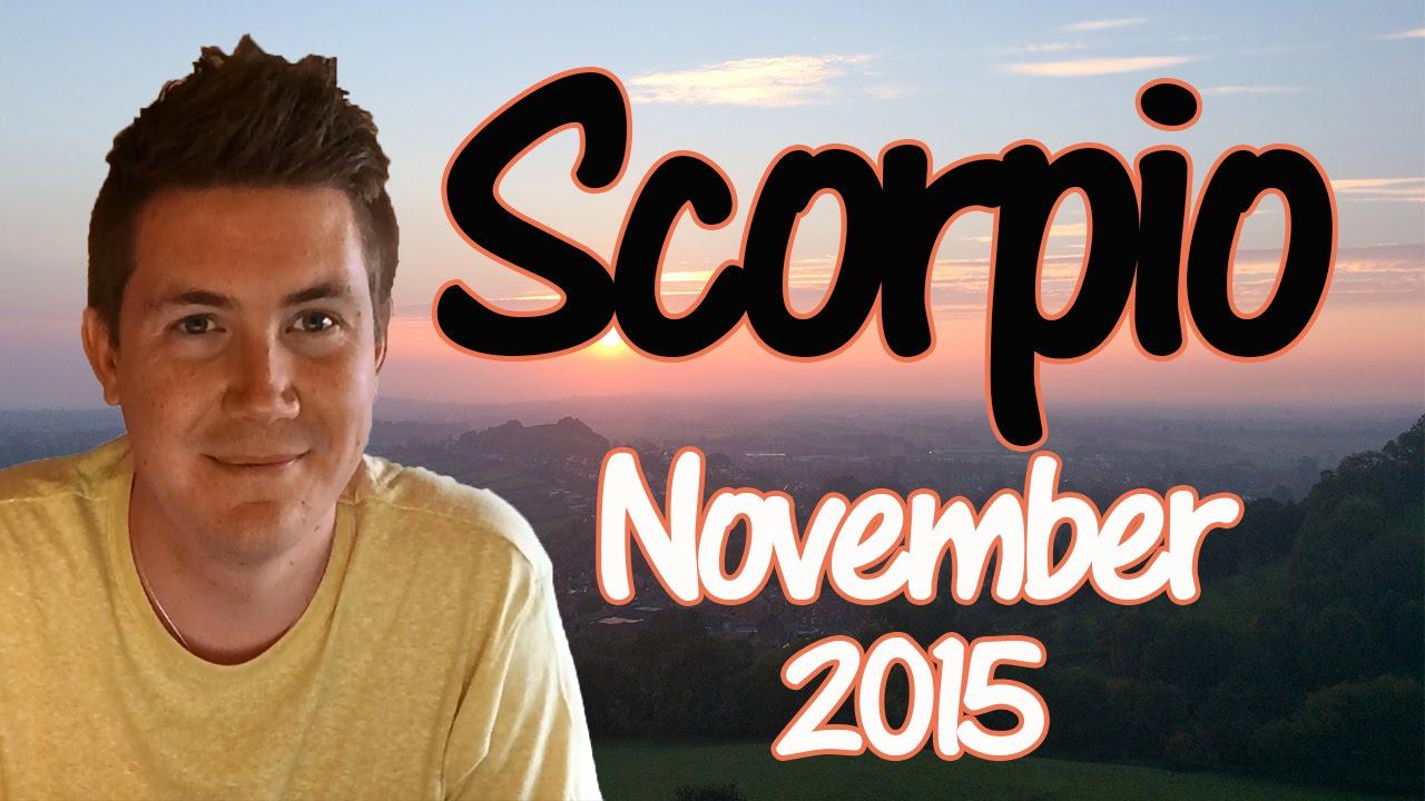 Horoscope for scorpio november 2015 predictive astrology youtube horoscope for scorpio november 2015 predictive astrology nvjuhfo Gallery