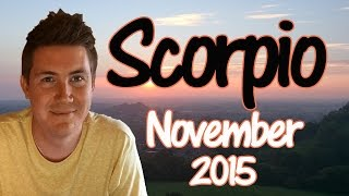Horoscope for Scorpio November 2015 | Predictive Astrology