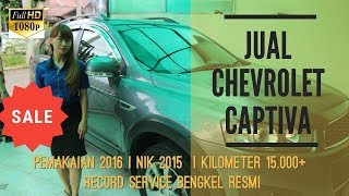 Review Jual Chevrolet Captiva Disel 2.0 AT LTZ 2015