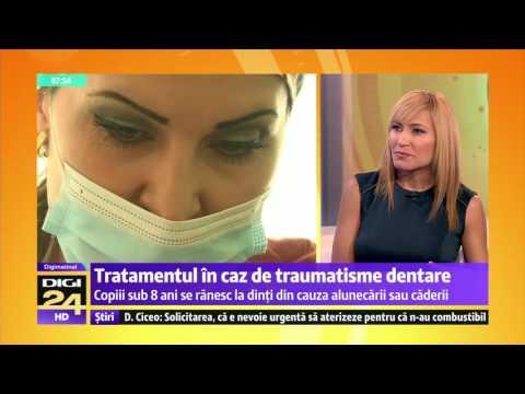 Tratamentul in caz de traumatisme dentare