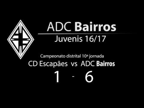 CD Escapães vs ADC Bairros Juvenis