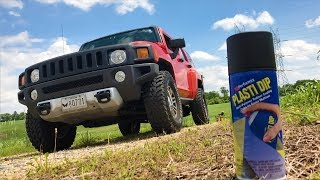 How To Black Out or De-Chrome Your Vehicle With Plasti Dip