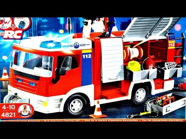 Fire Engine Construction Set / Wóz Stra?acki - Playmobil - 4821 - Recenzja
