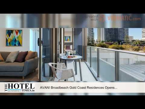 AVANI Broadbeach Gold Coast Residences Opens on Surf Parade