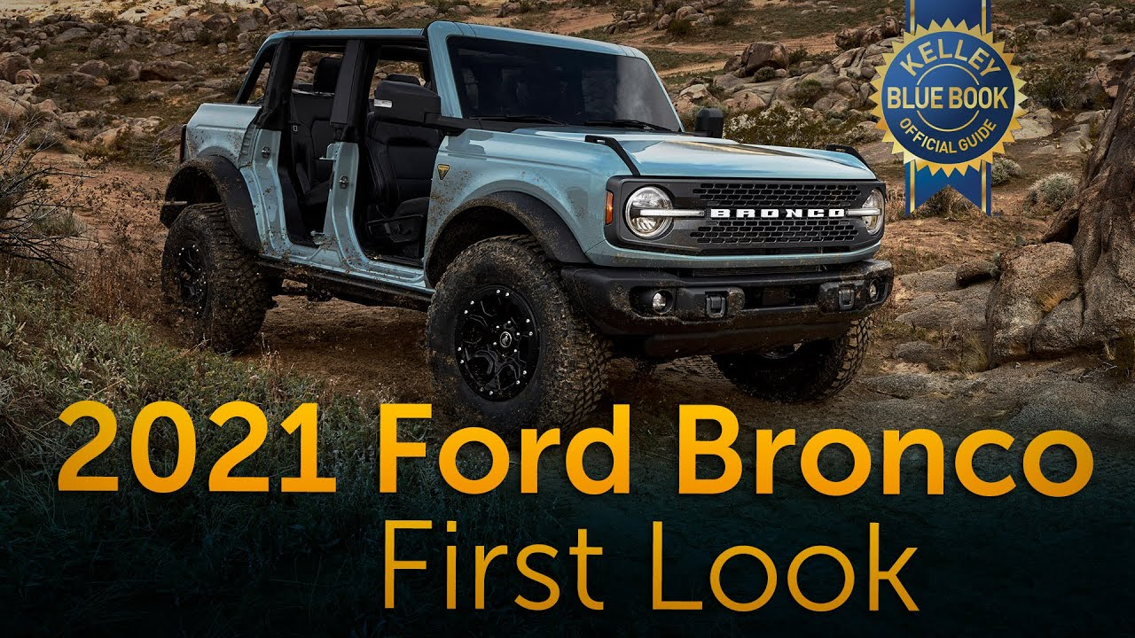 2021 Ford Bronco First Look Youtube