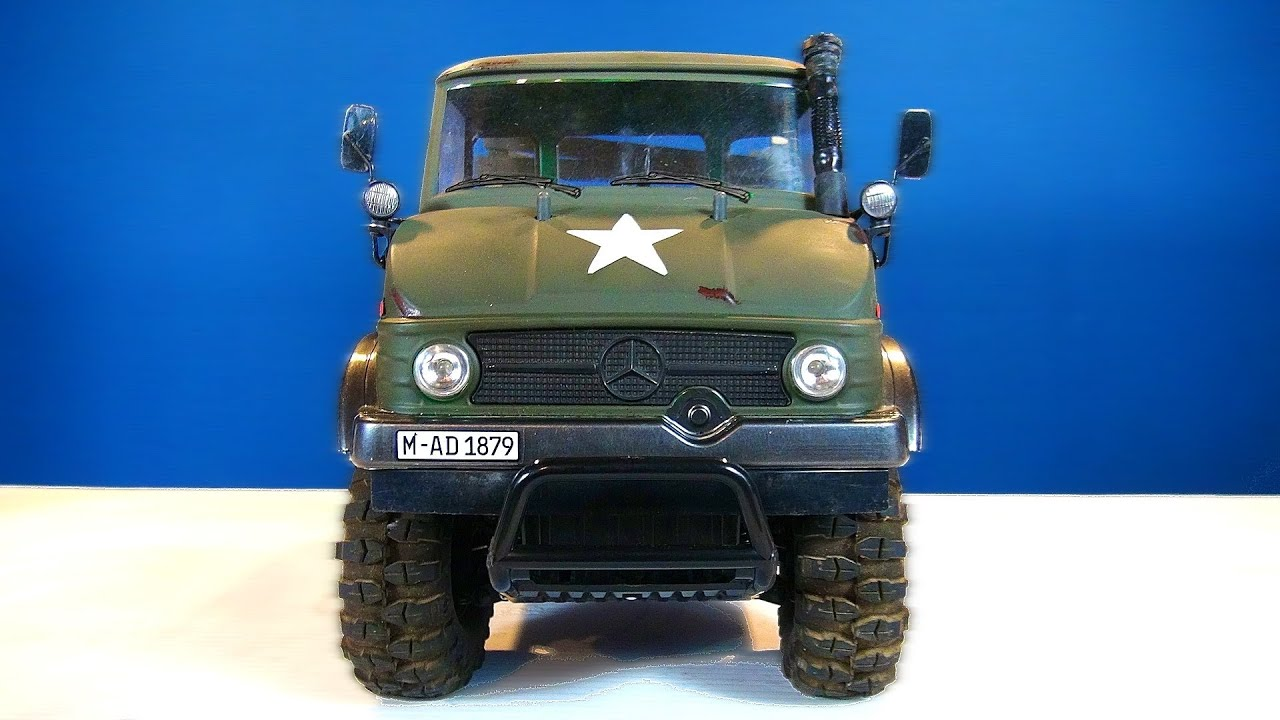 rc adventures - mercedes-benz military unimog 406 series - u900