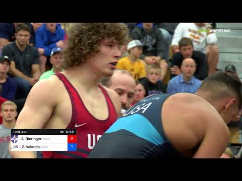 2018 FS WTT Challenge/Senior Men 79 1 Of 3 - Alex Dieringer (TMWC) Vs. Zahid Valencia (SKWC).mp4