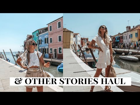 HUGE & Other Stories Summer Try-On Haul | Capsule Wardrobe and Holiday Outfit Ideas | Copper Garden