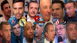 DIRECTO | PSG - REAL MADRID y ATLETI - JUVENTUS con EL CHIRINGUITO | CHAMPIONS LEAGUE