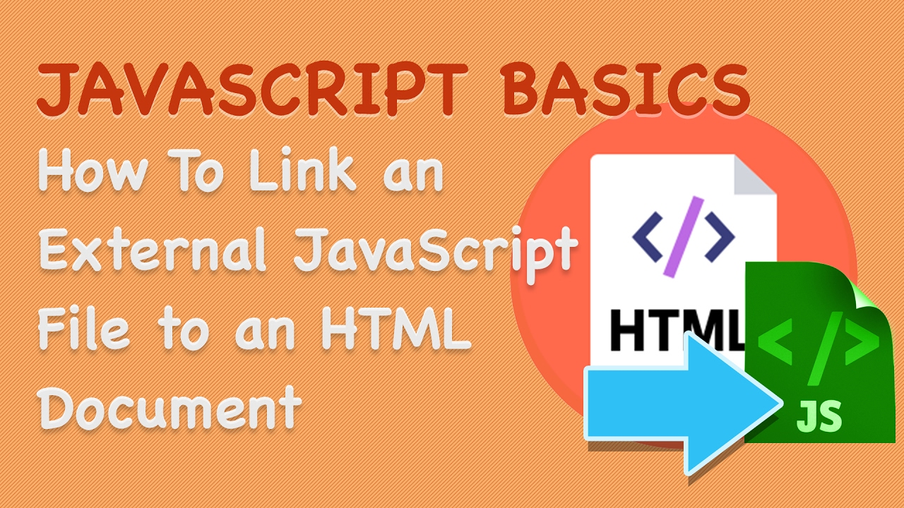 Javascripts - Javascript Basics How To Link An External Javascript File To An Html Document 3
