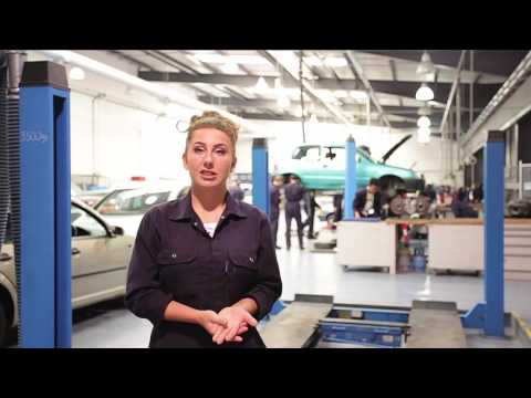A Construction and Automotive student gives her views on The Manchester College