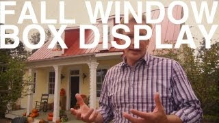 Fall Window Box Display | The Garden Home Challenge With P. Allen Smith