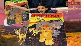 THE LION GUARD! Puzzle Games Disney Junior Learning Toys for Kids