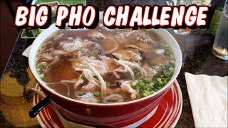 Big Pho Challenge at Pho Tango in Hillsboro, OR *Not Massive*   Freak Eating