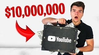 YouTube Sent Me A $10,000,000 Mystery Box!