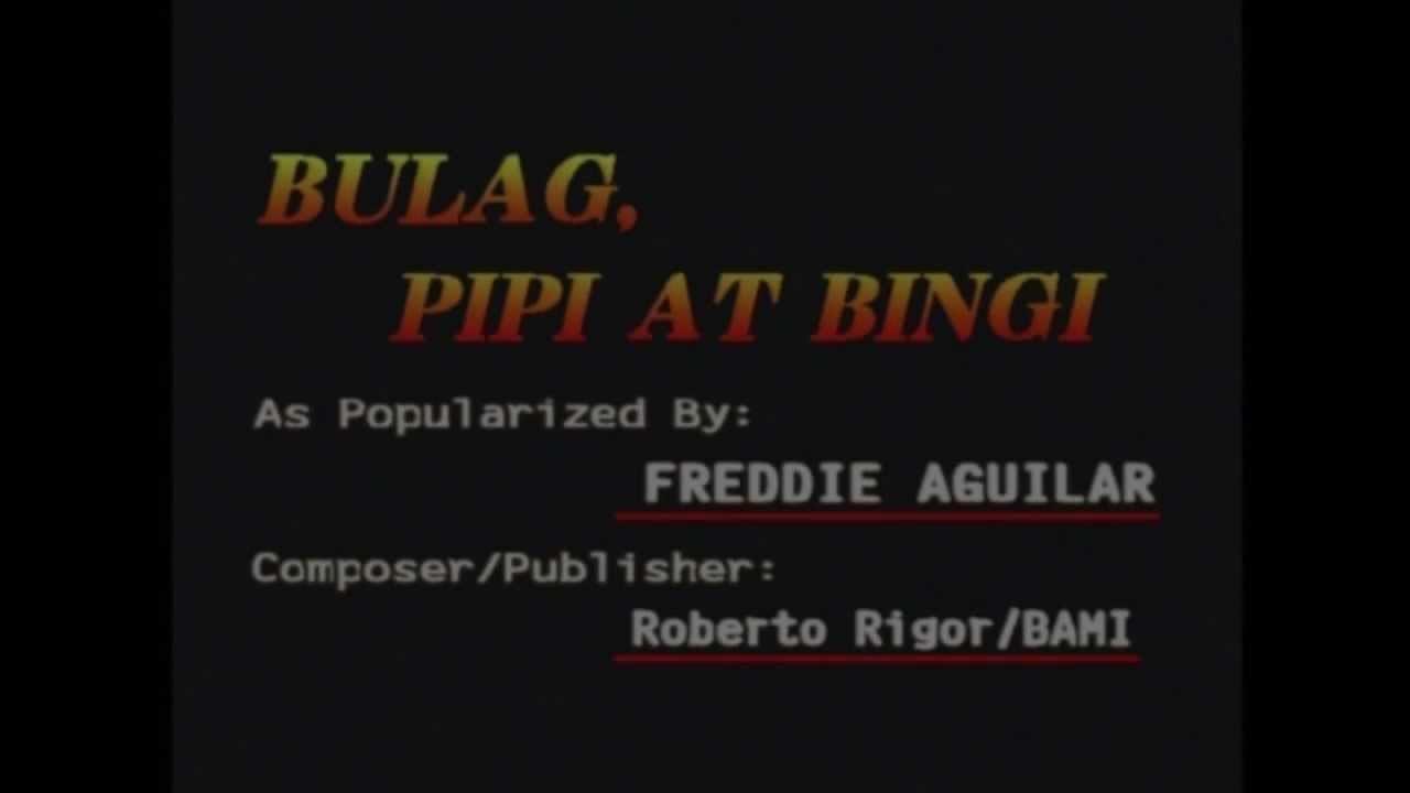 bulag pipi at bingi minus one