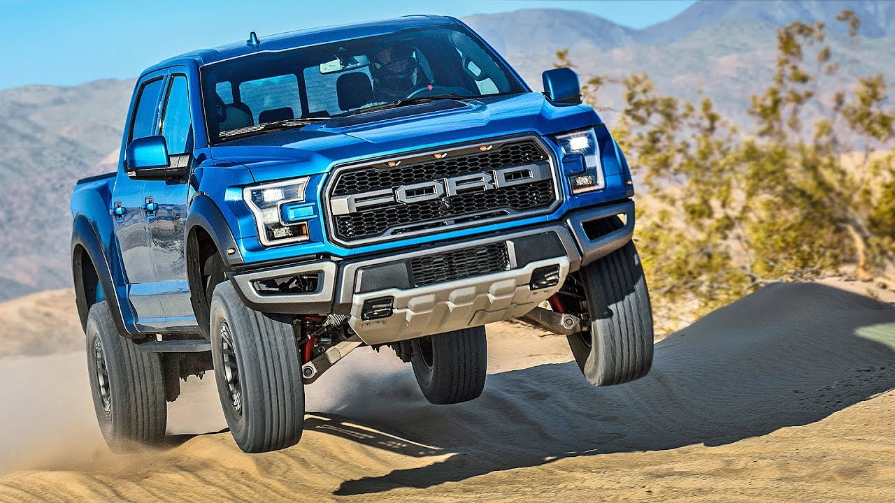 Ford f150 raptor 2019 off road demo
