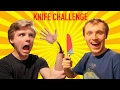 1000 DEGREE KNIFE CHALLENGE (GONE WRONG!!)