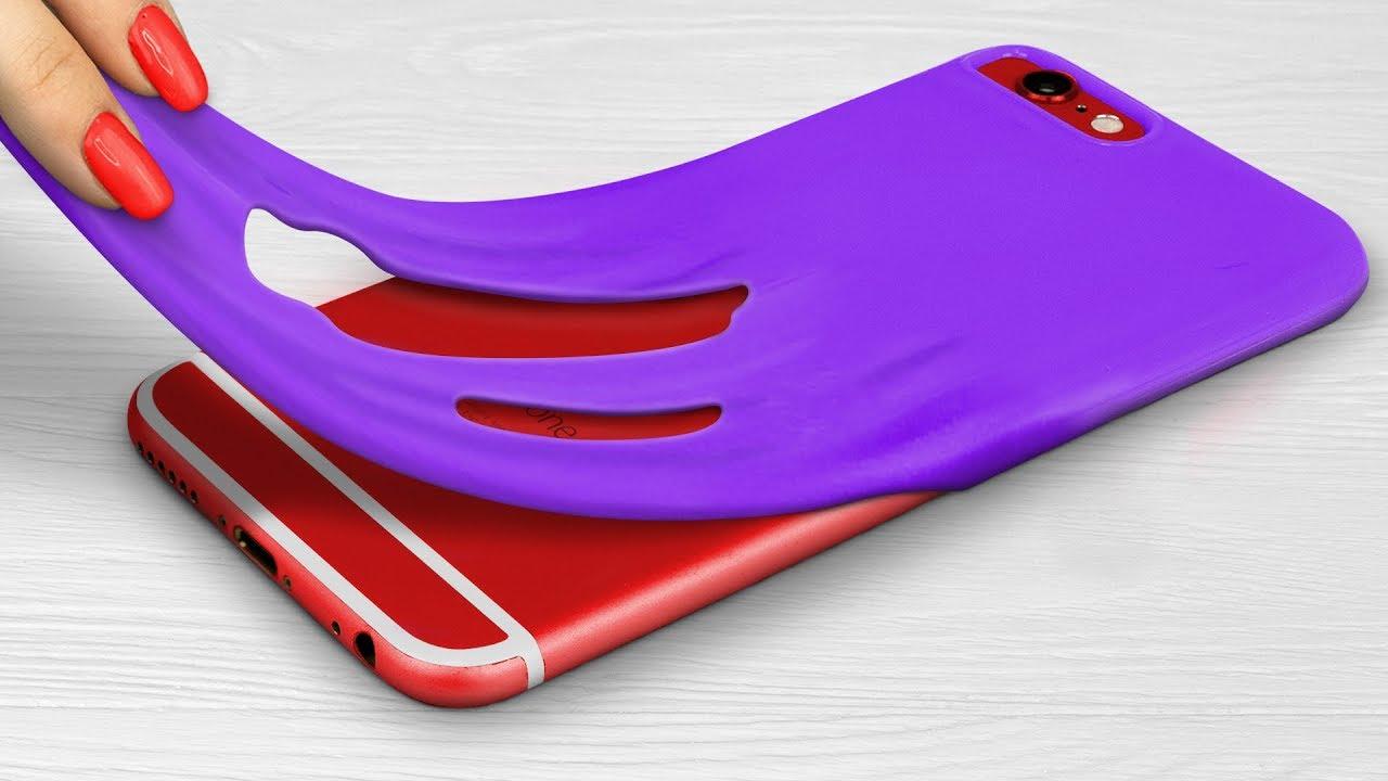 Чехлы для телефона своими руками – 15 идей!