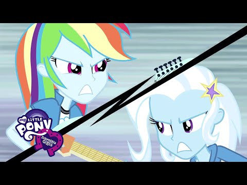 My Little Pony: Equestria Girls: Rainbow Rocks - 'Guitar Centered' Ft. Rainbow Dash & Trixie