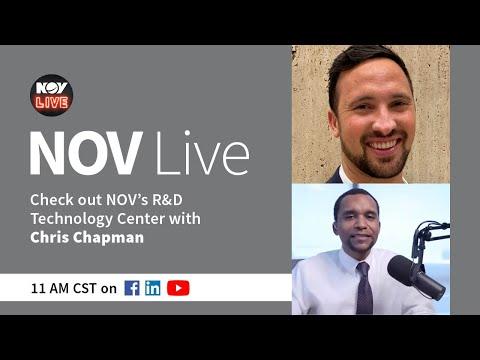 NOV Live | Check out NOV's RDTC with Chris Chapman