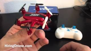JJRC H20 6 Axis Gyro Mini Drone Review