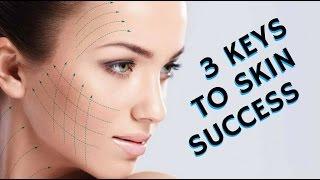3 KEYS TO HEALTHY CLEAR GLOWING SKIN SUCCESS #MondayMakeupChat - mathias4makeup